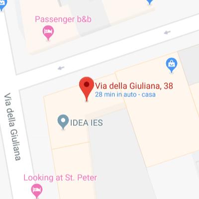 Zona Prati. Via della Giuliana 38