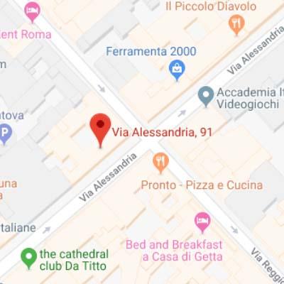 SEDE ROMA TRIESTE/SALARIO Via Alessandria 91  00198 Roma